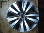 "2012 PEUGEOT 308 3008 GENUINE OEM 17"" DIAMOND ANTHRACITE ALLOY WHEEL 9802462377"